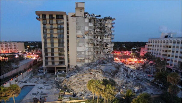 Champlain Towers South collapsed in the early hours on June 24